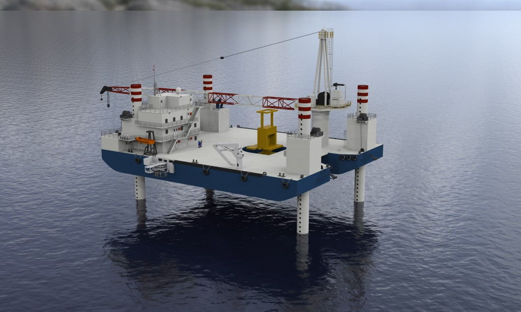 Installation Barge Rendering